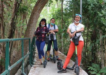 Go Scoot along Bang Krachao's paths