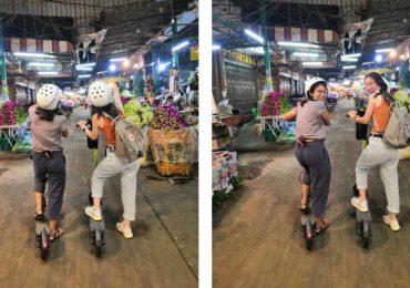 Exploring the flower market