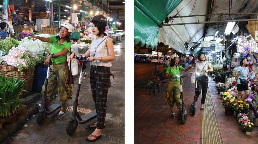 Night_Scooter_Tour_Bangkok_Flower_Market_Jam_and_Tourist