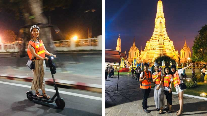 Night_Scooter_Wat_Arun_On_Scooter